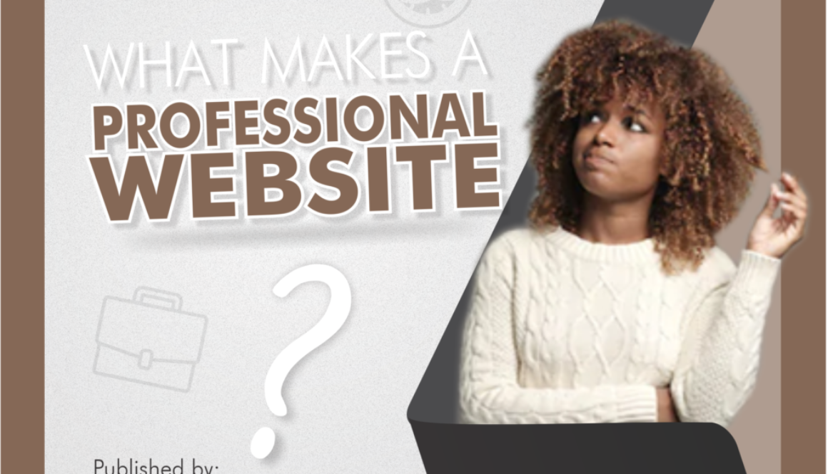[BLOG BANNER] what makes a professional website
