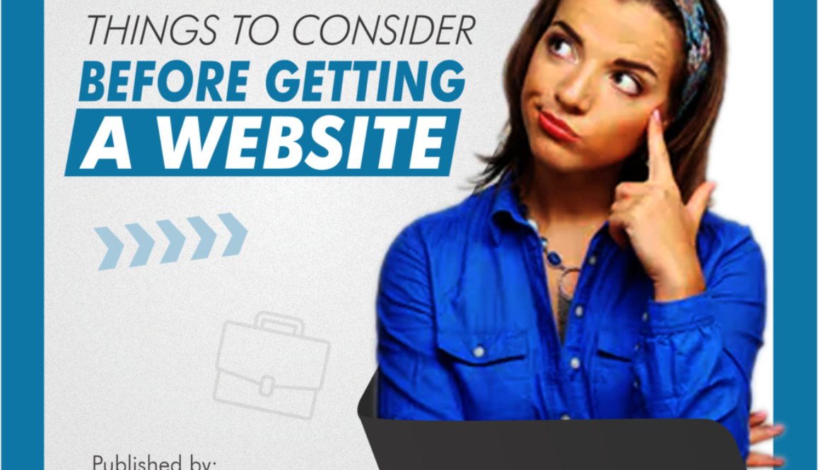 [BLOG POST] Things to consider before getting a website
