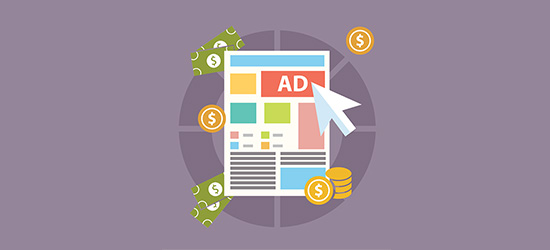 Make money with advertising banner