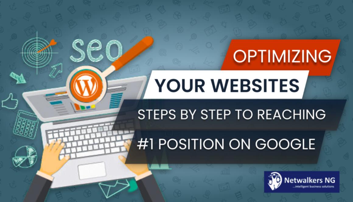 OPTIMIZING WEBSITE FOR GOOGLE