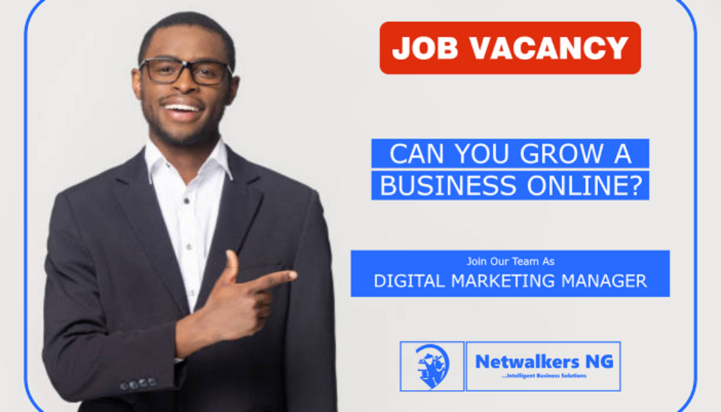 digital marketing manager job
